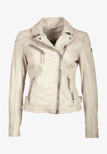 PGG LABAGV - Leather jacket - off white
