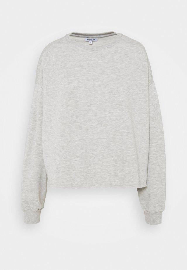 BOXY - Sweatshirt - light grey
