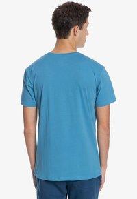 Quiksilver - BUBBLE JAM  - Print T-shirt - blue heaven - 2