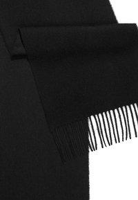 Johnstons of Elgin - 100% Cashmere Scarf UNISEX - Scarf - black - 3