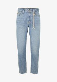 TOM TAILOR DENIM - Straight leg jeans - super stone blue denim - 3