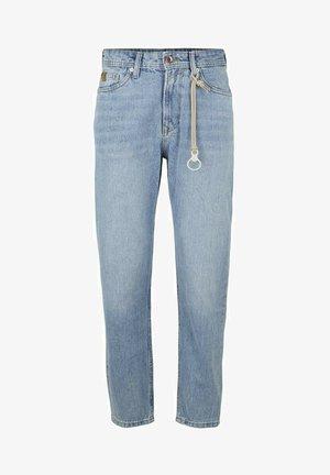 Jeans Straight Leg - super stone blue denim