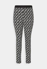 MILANO LOGO  - Leggings - Trousers - institutional black