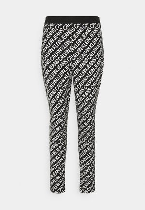 MILANO LOGO  - Leggings - Trousers - institutional black