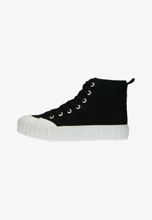 Sneakers hoog - schwarz