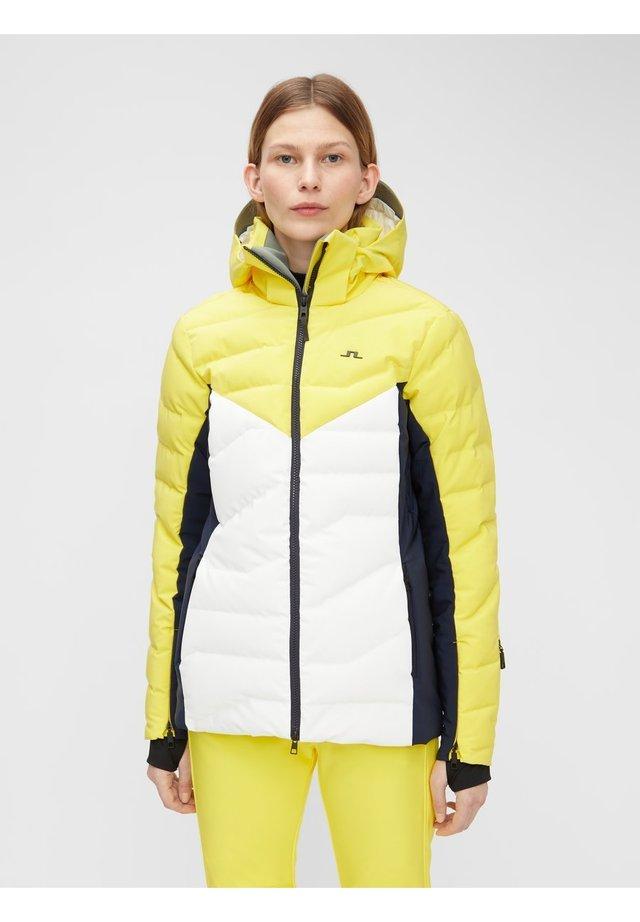 CRYSTAL - Kurtka narciarska - banging yellow
