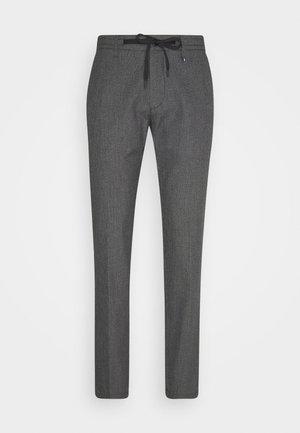 ELASTIC WAISTBAND DRAWSTRING  - Trousers - black