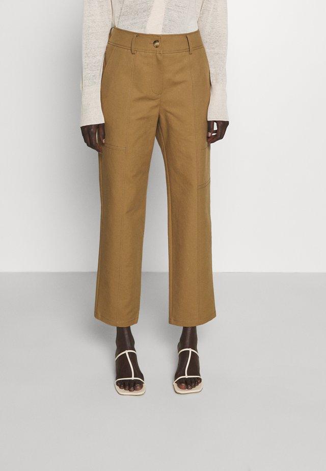 MAVIS TROUSERS - Trousers - camel