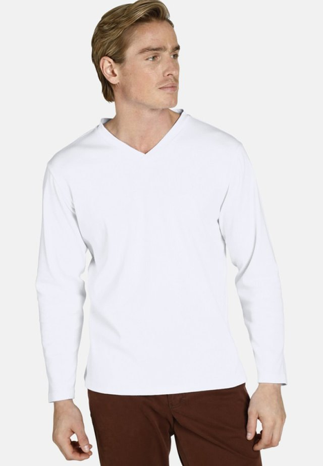 EARL CILLIAN - Long sleeved top - white