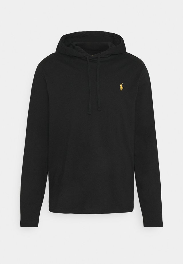 Sweat à capuche - black/gold