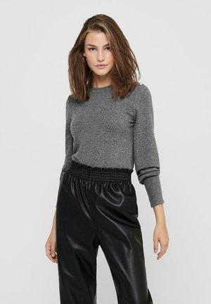 Long sleeved top - dark grey melange