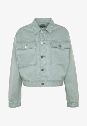 TUXEN JACKET - Veste en jean - laurel green