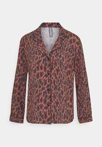 LingaDore - SET - Pyjamas - brown/black - 2