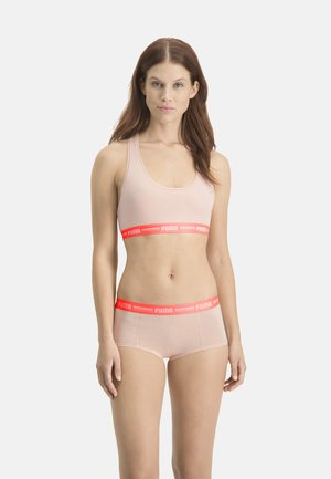 2 PACK - Pants - light pink