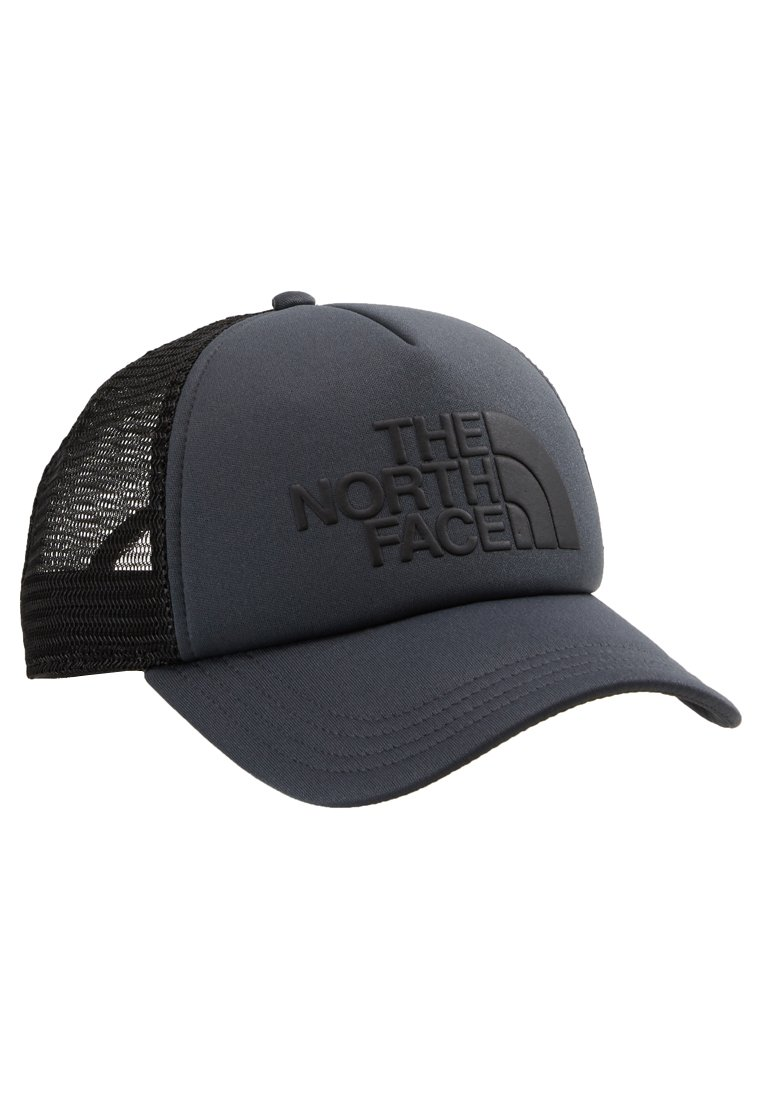 The North Face Logo Trucker - Cap Black/white/schwarz