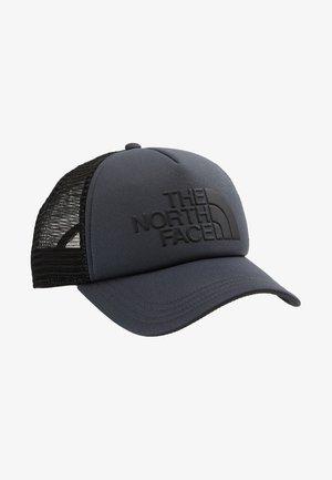 LOGO TRUCKER UNISEX - Cap - asphalt grey/black