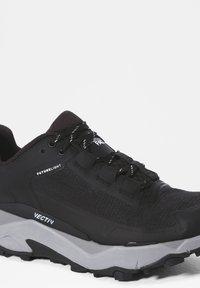 The North Face - W VECTIV EXPLORIS FUTURELIGHT - Hiking shoes - tnf black meld grey - 5