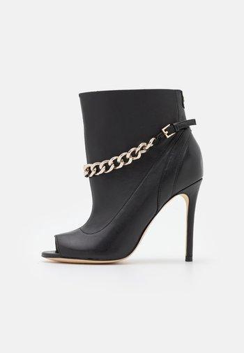 ADINE - High heeled ankle boots - black