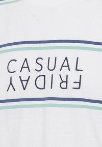 Casual Friday - STRIPE - Printtipaita - bright white - 5