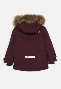 Didriksons - KURE KIDS PARKA - Winter coat - plum - 1
