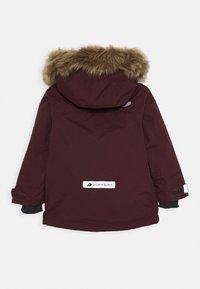 Didriksons - KURE KIDS PARKA - Zimní kabát - plum - 1