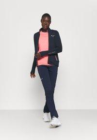 Salewa - PEDROC - Fleece jacket - navy blazer melange - 1