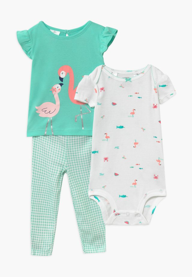 FLAMINGO SET - Body - mint
