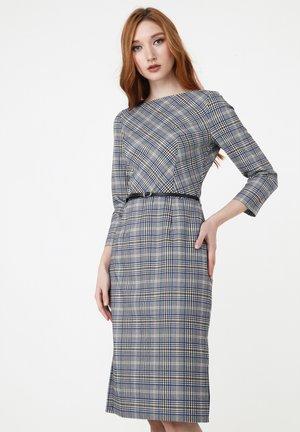 Robe d'été - grau/ indigo
