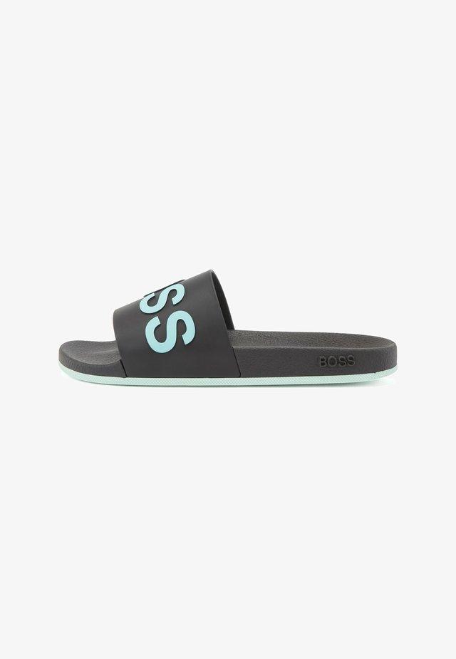 BAY_SLID_RBLG2 - Sandales de bain - black