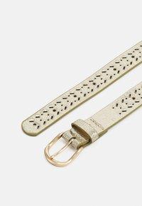 NAF NAF - SLILI - Belt - light gold - 1