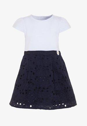 DRESS SANGALLO - Jersey dress - bright white