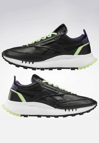 Reebok Classic - NEW LEGACY LEATHER SHOES - Trainers - black - 6