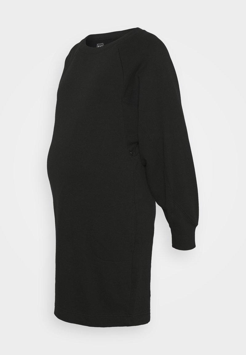 GAP Maternity - NURSING - Denní šaty - true black