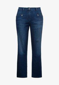 Ulla Popken - Straight leg jeans - blue denim - 2