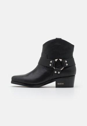 FULVIA - Cowboystøvletter - black