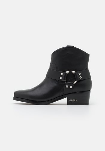 FULVIA - Cowboy/biker ankle boot - black