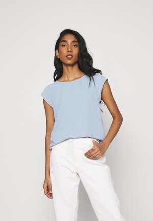 VILOVIE CAPSLEEVE - Blusa - ashley blue