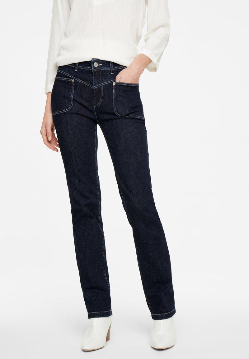 comma casual identity - Straight leg jeans - dark blue