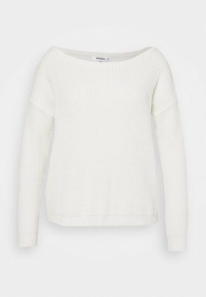 OPHELITA OFF SHOULDER - Sweter - cream