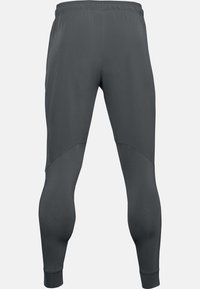 Under Armour - HYBRID - Tracksuit bottoms - pitch gray - 4