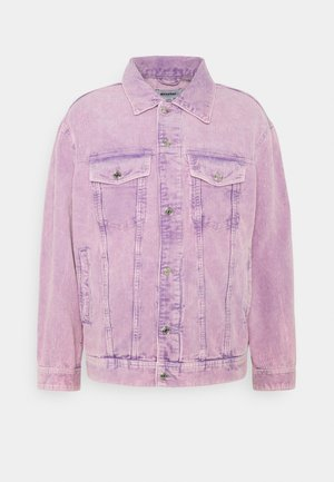 MILTON OVERSIZED WASHED JACKET - Summer jacket - purple