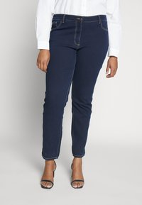 Persona by Marina Rinaldi - ICONA - Slim fit jeans - blu marino - 0