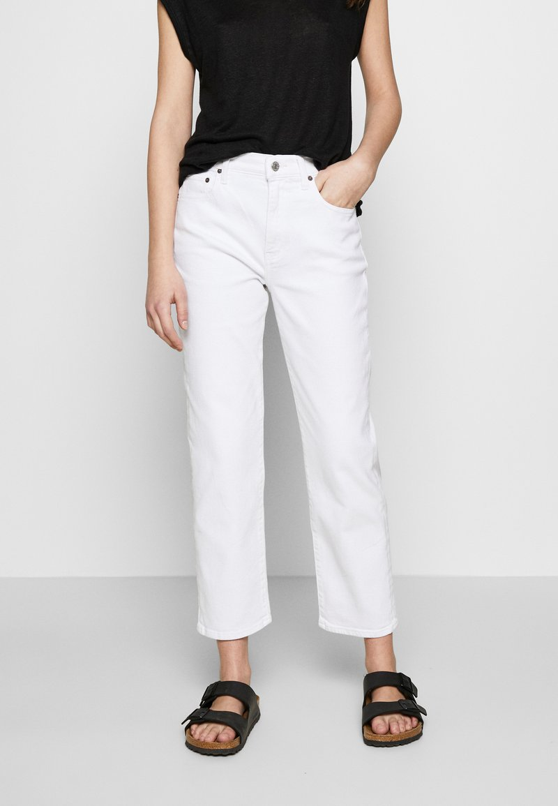 Ética - FINN ANKLE - Jeans straight leg - sustainable white