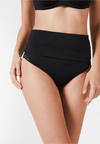 Calzedonia - MIT UMSCHLAGBUND INDONESIA - Bikini bottoms - nero - 0