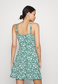 Cotton On - TURNER STRAPPY MINI DRESS - Jerseyjurk - heritage green - 2
