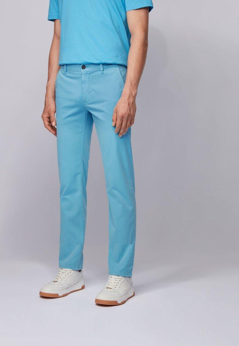 BOSS - SCHINO - Chino - turquoise