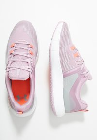 Under Armour - HOVR RISE - Trainings-/Fitnessschuh - pink fog/white/peach plasma - 1