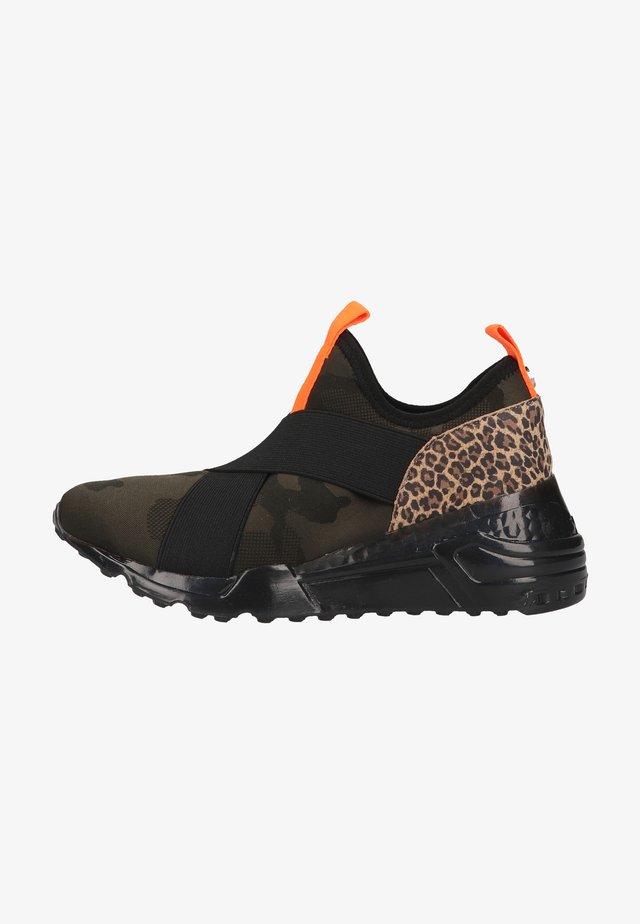 Sneakers laag - leopard multi