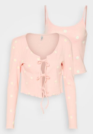 ONLFENJA LIFE 2 PACK - Cardigan - strawberry