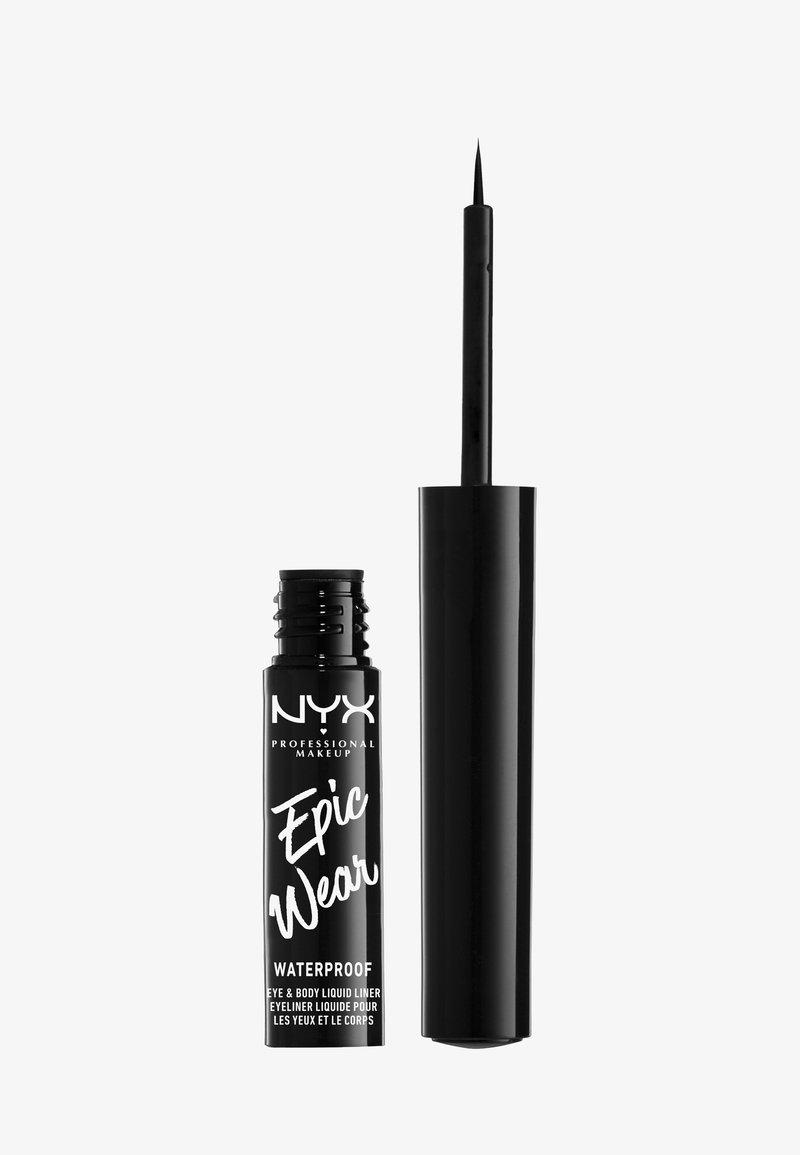 Nyx Professional Makeup - EPIC WEAR LIQUID LINER - Eyeliner - black